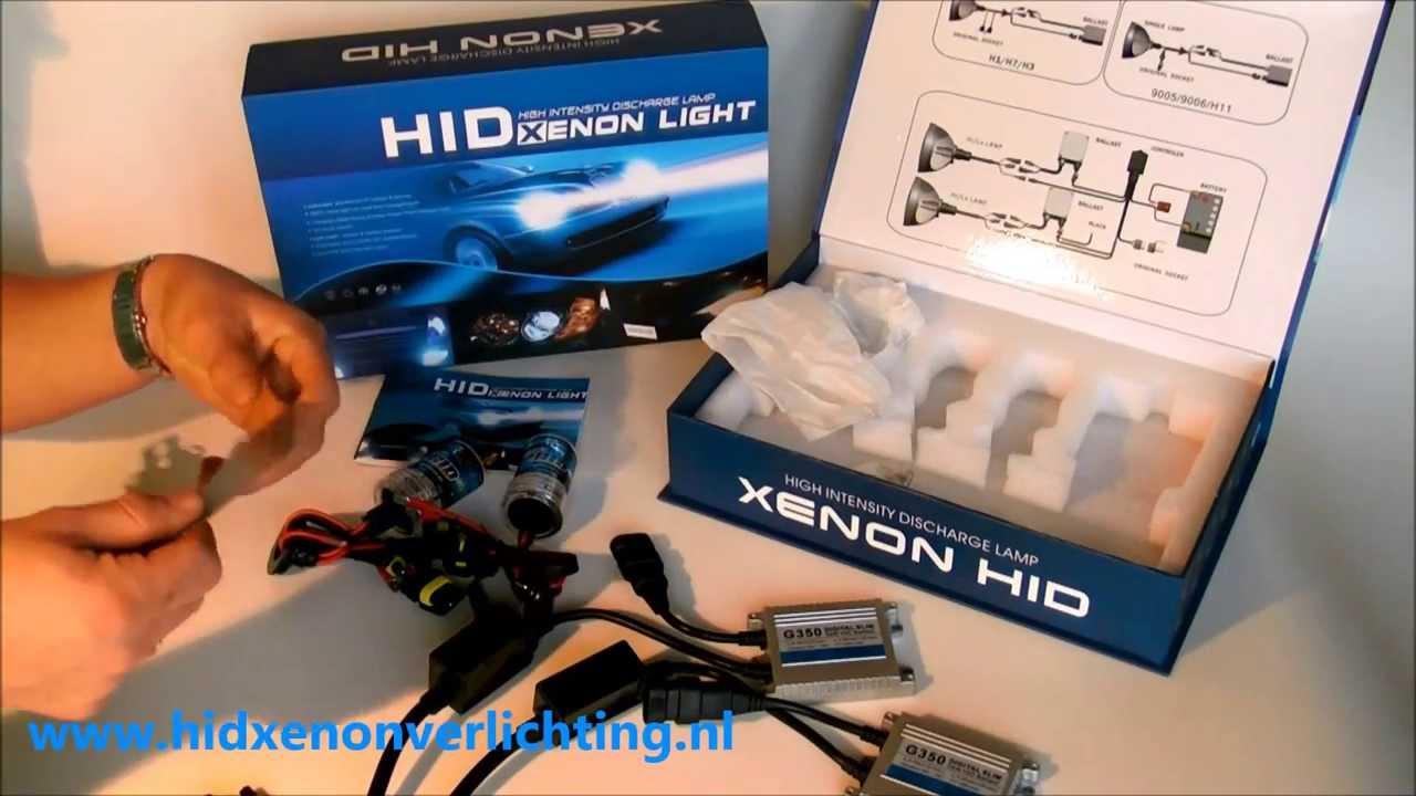 xenon verlichting kit inbouwen