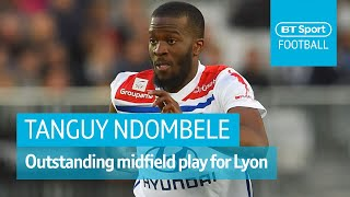 Tanguy Ndombele - Rising French star | Goals, assists, all-around midfield highlights