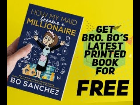 "Bo Sanchez FREE book: ""How My Maid Became A Millionaire"""