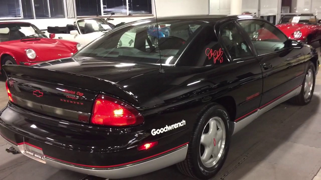 hight resolution of 1995 chevrolet monte carlo z34 dale earnhardt limited edition 18 of 25