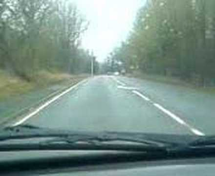Seat Ibiza Gti 16v Country Road Overtaking