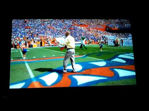 Danny Wuerffel honorary Mr. Two Bits.