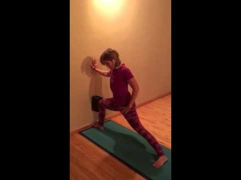Forrest Yoga Standing Pose , Divine Hips Sequence