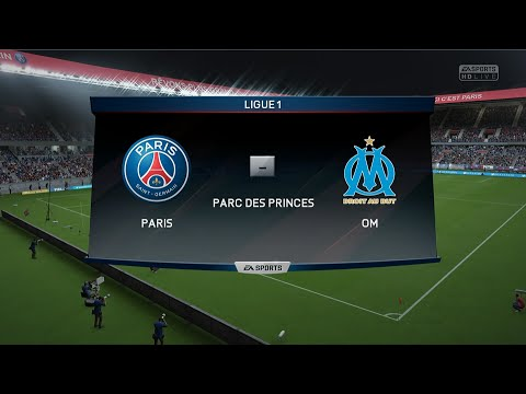Paris SG - Olympique de Marseille [FIFA 16] | Ligue 1 2015-2016 (9ème Journée) | CPU Vs. CPU