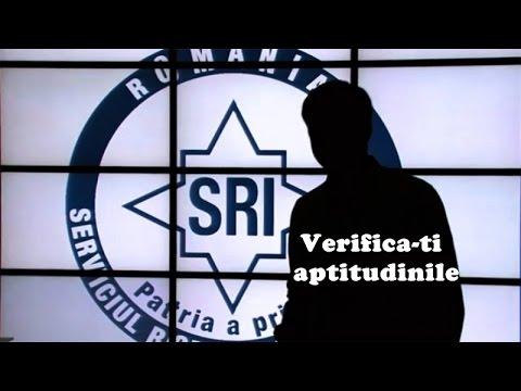 SRI-Serviciul Român de Informaţii / Verifică-ţi aptitudinile!