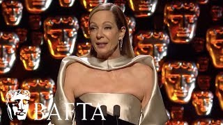 Allison Janney wins Supporting Actress | EE BAFTA Film Awards 2018