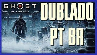 E3 2018 Ghost of Tsushima Dublado (Por fãs)