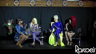 Roscoe's RPDR S11 Viewing Party with T Rex, Detox, Shuga Cain & Kahanna Montrese!