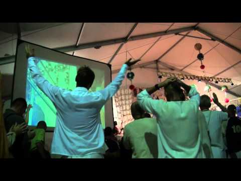 Киртан Кришне 7 на Фестивале Бхакти Сангама 12 09 2010