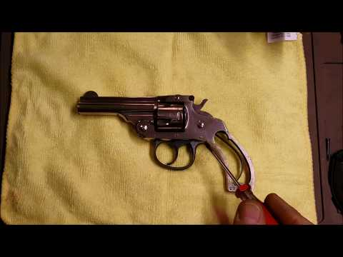 Harrington & Richardson  32 S&W Revolver Dissasembly & Reassembly