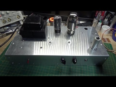 Lets Build a Guitar Amp Part 5   Success at Last