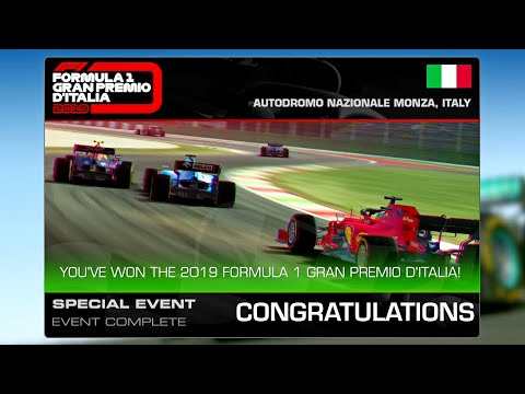 Real Racing 3 Formula 1 Italian GP Final Goal