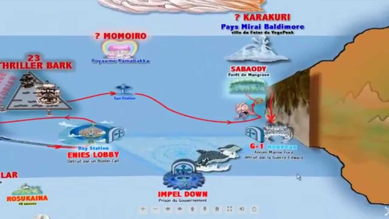 one piece carte du monde Nouveau Monde One Piece : la nouvelle carte Interactive Shinsekai