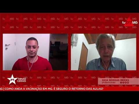 TV PT MG | COMO ANDA A VACINAÇÃO EM MG. É SEGURO O RETORNO DAS AULAS?