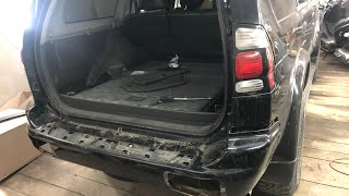 Как снять задний бампер на митсубиси паджеро спорт 2008 Mitsubishi Pajero Sport