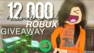 12000 robux giveaway! (tysm for 10k+ subs!)