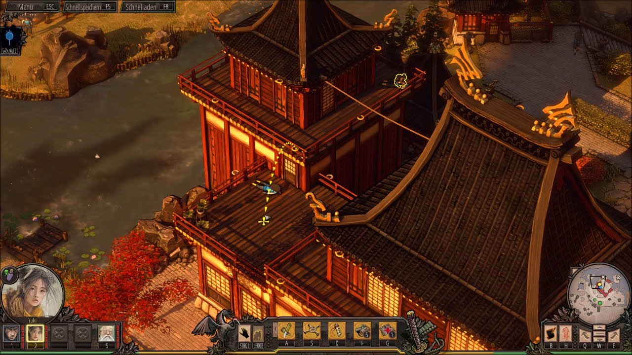 Shadow Tactics Blades of the Shogun #17 [DE|HD] Und alle zugleich! фото