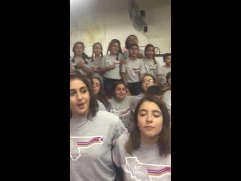 """AYF Camp Week A Singing """"Pit Pashtpanem"""""""
