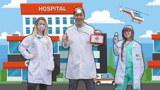 VIRAMOS MÉDICOS DE VERDADE NESSA HISTORINHA (IN THE STORY WE BECAME REAL DOCTORS)