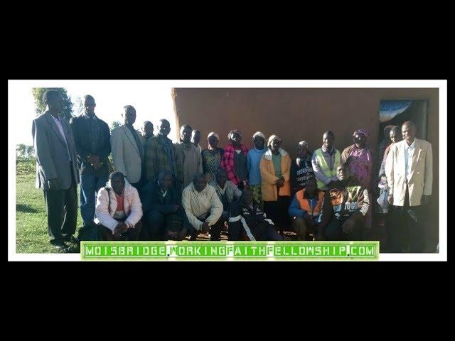 The Saints Gather at a New Fellowship in Kolongolo Kenya