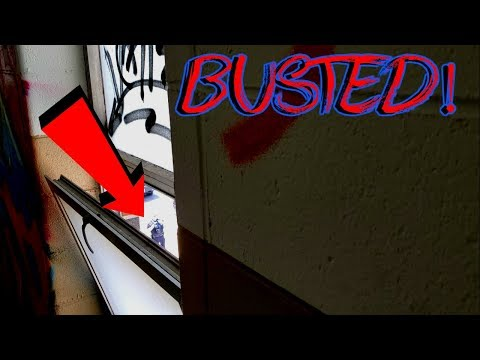 BUSTED While Exploring Abandoned School (Almost Arrested)