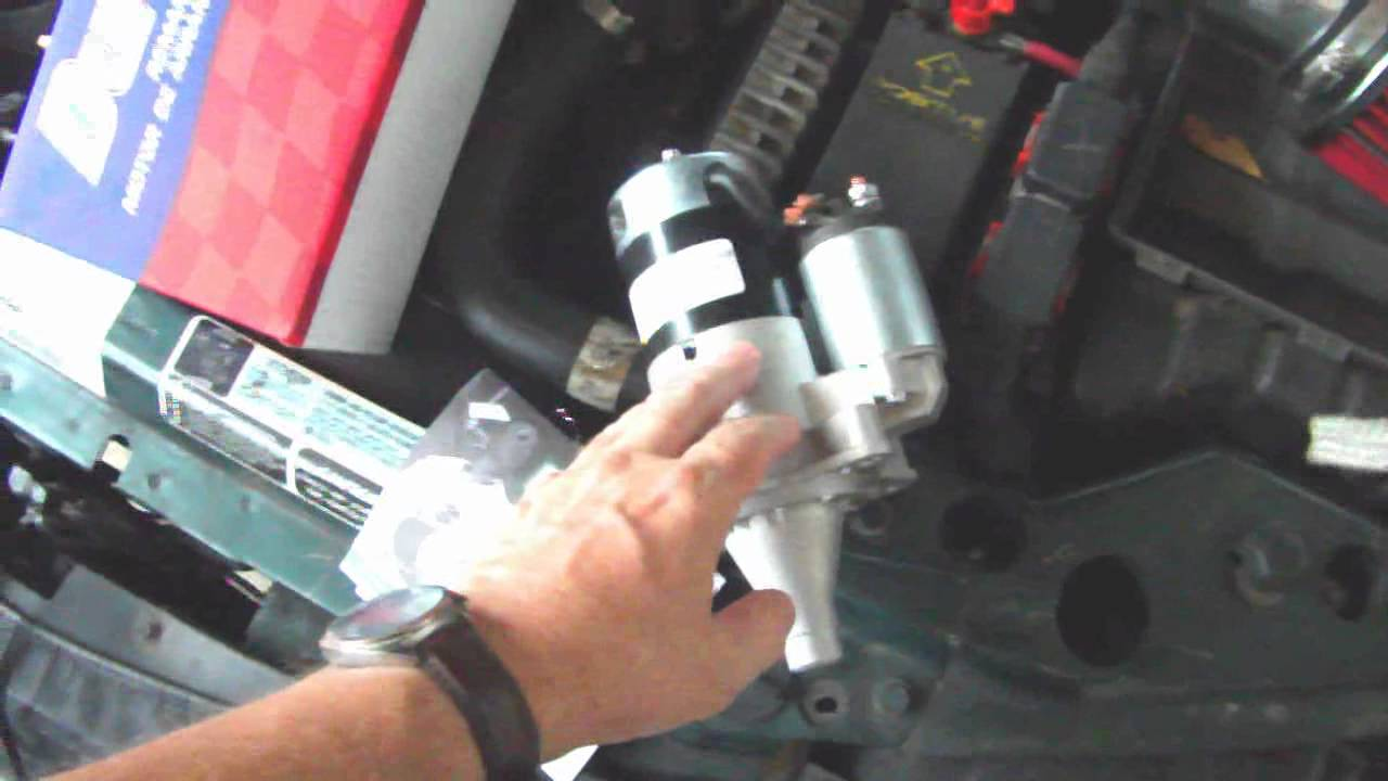 small resolution of chrysler sebring convertible 96 00 starter repair replacement youtube