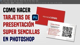 Tarjetas de Presentación Sencillas y Económicas en Photoshop.