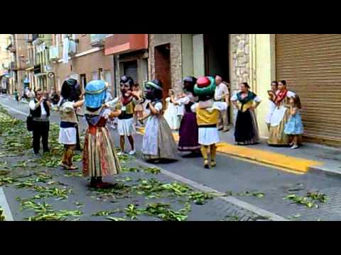 Dansa dels cabuts a Alboraia - 03/07/2011