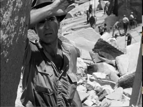 Gary Cooper -- The Fountainhead (1949) -- 1 The quarry
