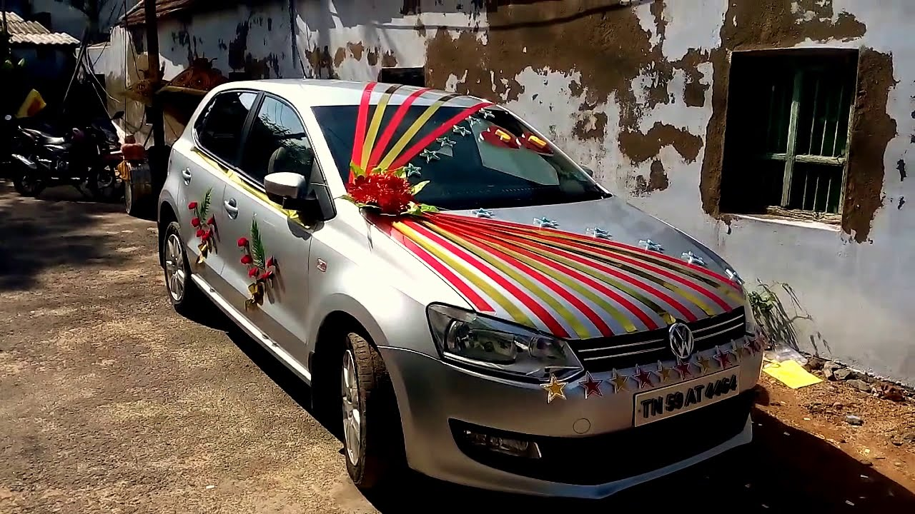 Wedding Car Decoration 2015 Stxaviers Lourthusamy Thoothukudi