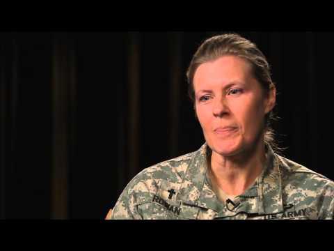 CH LTC Julie Rowan discusses Female Chaplains in the U S  Army