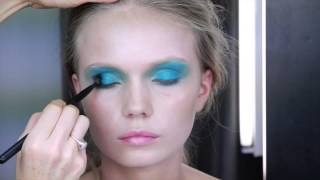 Party makeup with colour Thumbnail