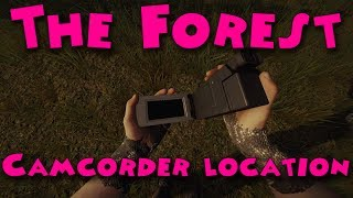 The Forest - Camcorder location
