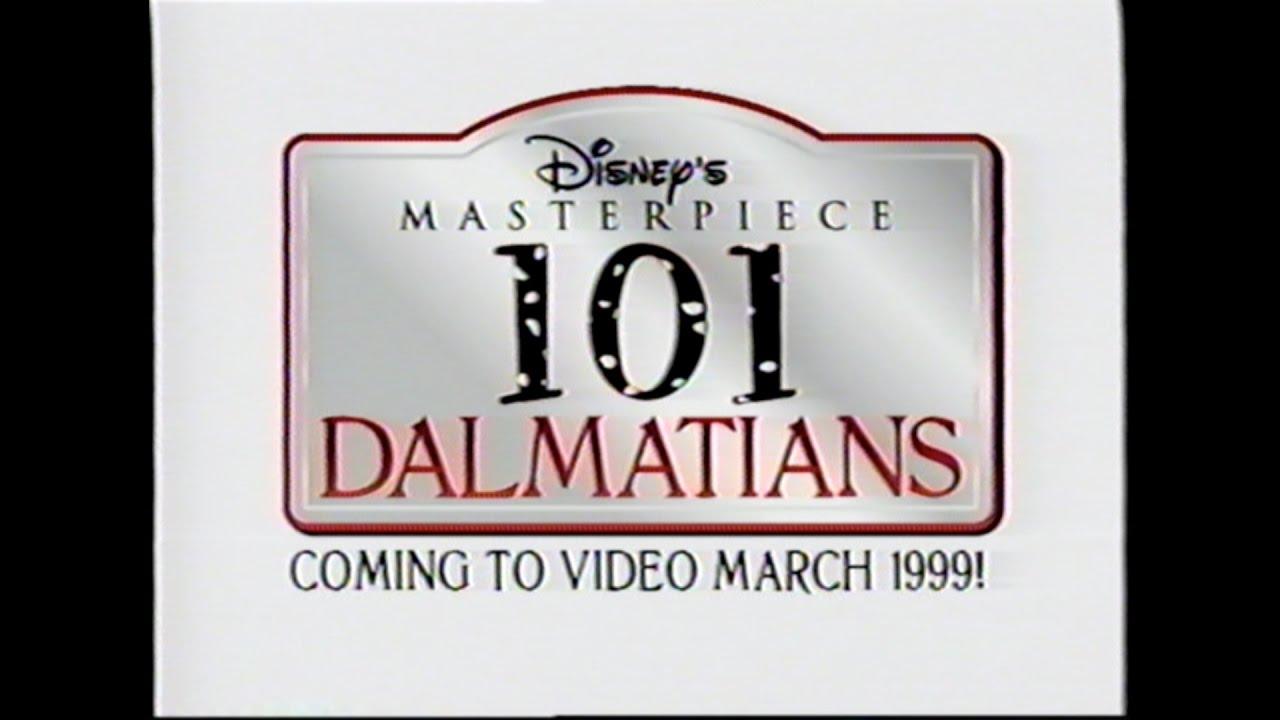 Download 101 DALMATIANS MOVIE TRAILER [VHS] 1961/1999