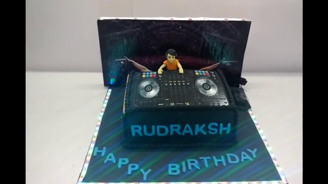Dj Cake Delhi Dj Theme Designer Cake Delhi Dj Custom Cake Delhi