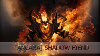 Fire Arcana - Shadow Fiend [Demon Eater]