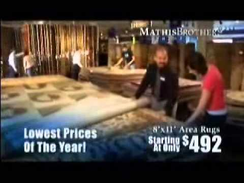 Mathis Brothers Furniture commercial featuring Los Angeles Voice Over Actor Jeff McNeal