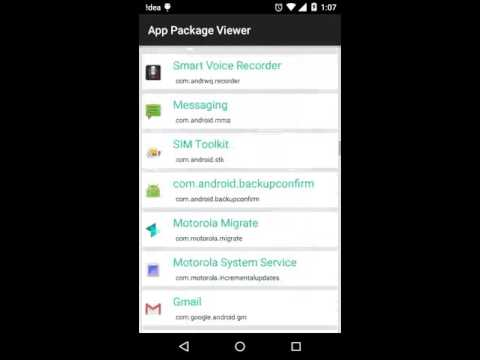 Android Package Manager Video