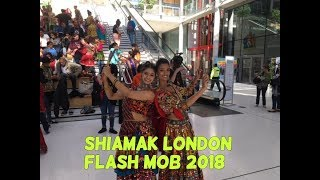 Shiamak London| Flash Mob| Chogada | Dholida Song|Flash Mob London |Bollywood flash mob dance|