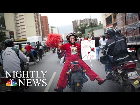 Tens Of Thousands Of Women Across The World Strike For #DayWithoutAWoman | NBC Nightly News