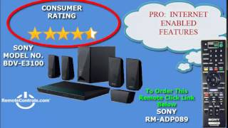 review sony 3d blu ray home theater system with wi fi bdv e3100