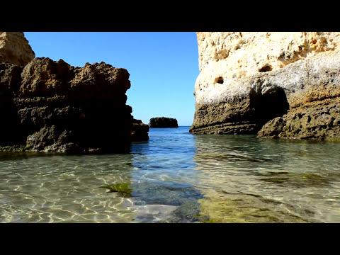 Praia de São Rafael - Amazing beach in Algarve - Rock Cave - Portugal