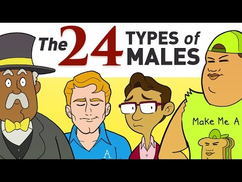 What Kind of Man are You?  All 24 Types Of Males Explained Here.