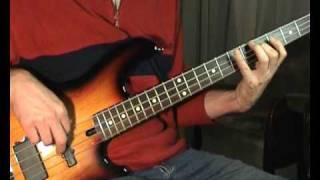 Roy Orbison - Pretty Woman - Bass Cover (close up)