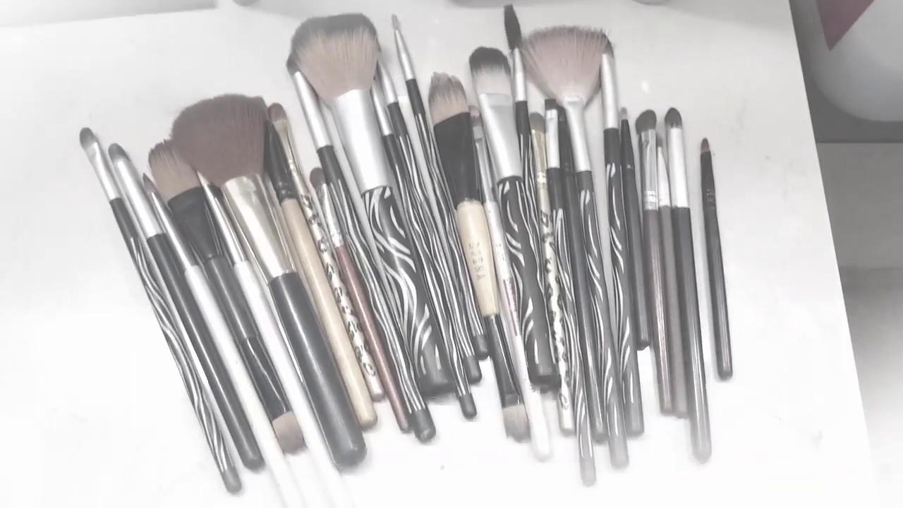 Como limpiar brochas de maquillaje fasil y r pido youtube - Como limpiar rapido ...