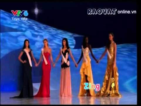 Lễ đăng quang Hoa Hậu Thế Giới 2012 - Miss World 2012
