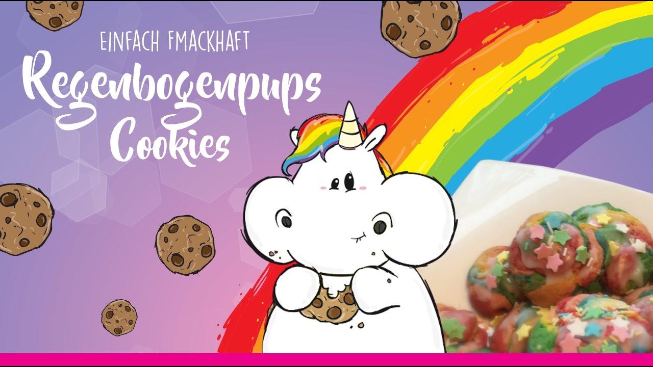 Fmackhafte Regenbogenpups Cookies Pummeleinhorn YouTube