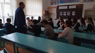 """Открытый урок по """"Гражданской обороне"""". Проводит Учитель ОБЖ Ахмедов Р. Р.."""