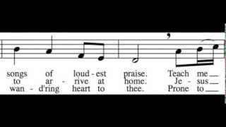 Come, Thou Fount of Every Blessing - Soprano Only - Learn How to Sing Hymns