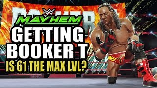 WWE Mayhem - Getting Booker T Event, Is 61 The Max Level? Lootcase Opening Shenanigans